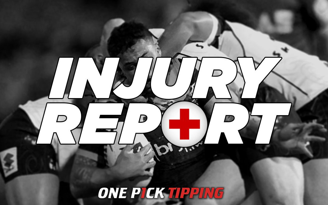Key NRL Injuries to Consider for Your First 2020 Tip